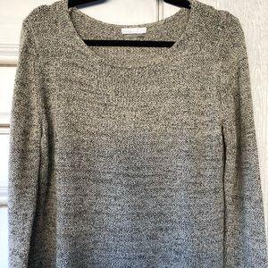 Dalia Soft Cotton Marled Knit Sweater